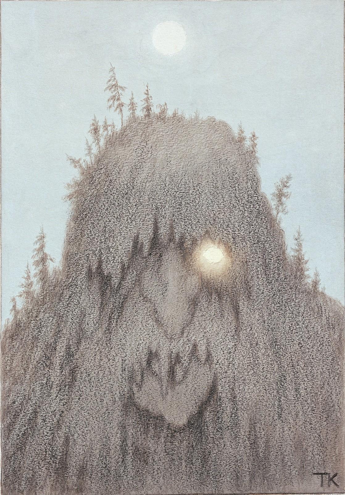 Theodor Kittelsen - Forest Troll, 1906