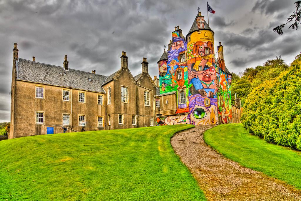 Kelburn Castle HDR