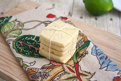 Cornmeal Shortbread Cookies | by Tracey's Culinary Adventures