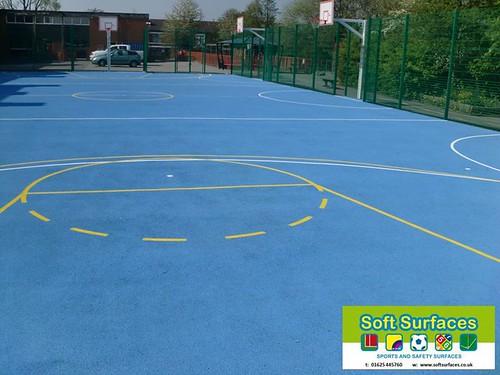 Muga Basketball Court Sports Surface Multi