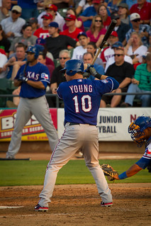 Michael Young (#10) | by Jeremy Royall