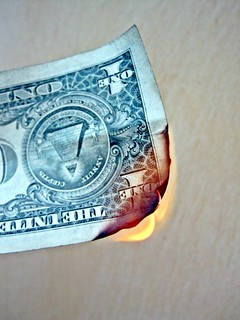 Money Set Alight | by Images_of_Money
