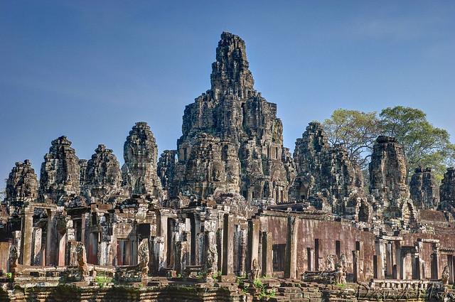Angkor, Cambodia - Bayon Temple
