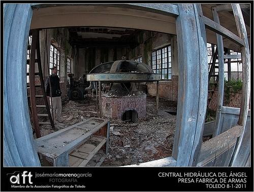 CENTRAL HIDRAULICA DEL ANGEL - PRESA FABRICA DE ARMAS - TO ...