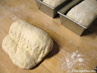 How to shape bread dough into sandwich loaves 2 | by Farmgirl Susan