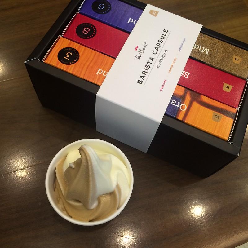 폴바셋 아이스크림 캡슐