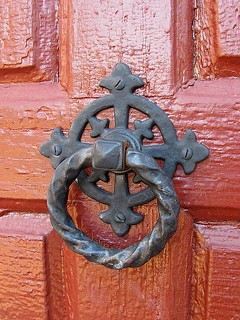 Door Knocker, St. John's Church | by Universal Pops (David)