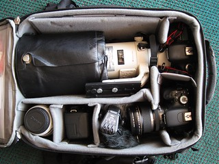 Camera bag, Florida trip | by Cameralabs