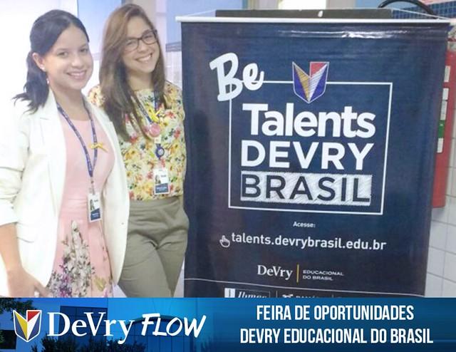 Feira de Oportunidades DeVry Educacional do Brasil
