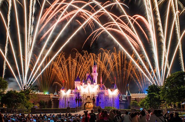 Disney in the Stars Fireworks