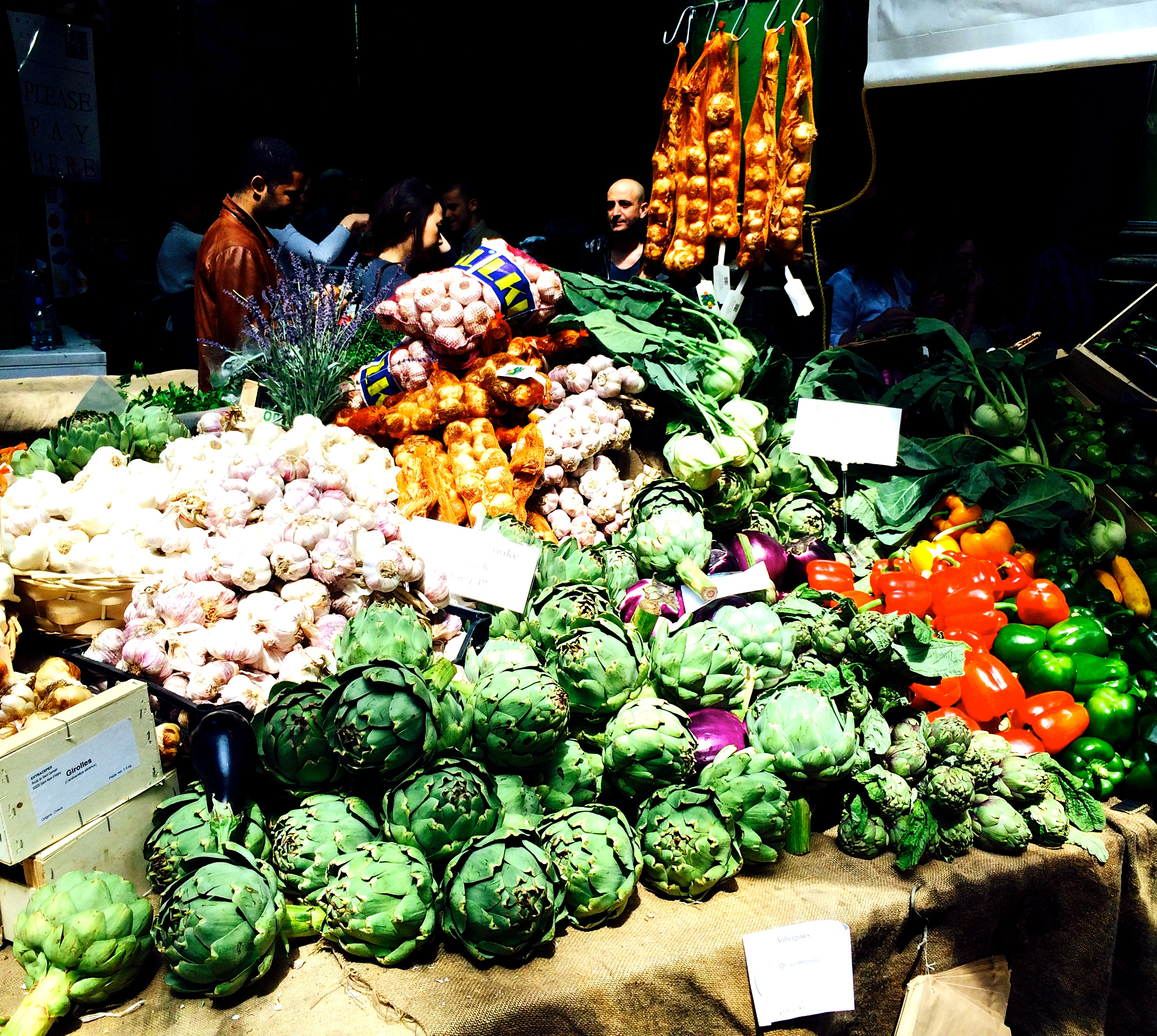 Borough Market à Southwark, à l'est de Southbank (Londres) - Photo de Herry Lawford