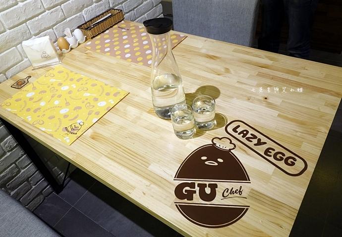 23 Gudetama Chef 蛋黃哥五星主廚餐廳 台北東區美食