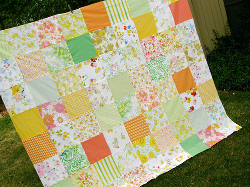 picnic quilt | by quirky granola girl