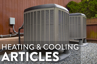 HEATING AND COOLING articles