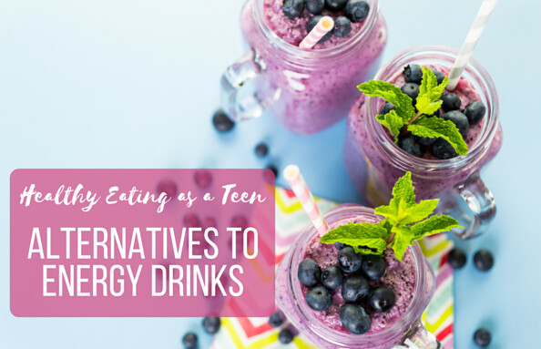 Energy drink alternatives for kids and teens