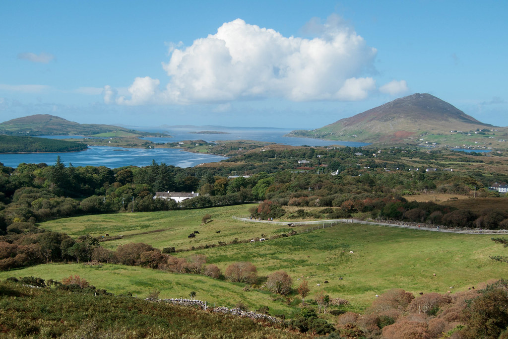 At Connemara National Park