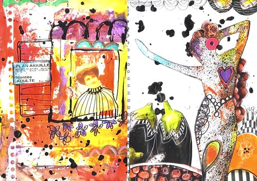 Art-Journal - week 4 | by Francoise MELZANI