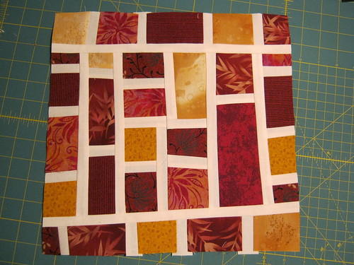 Mod Mosaic for racrobin (rachel) Sew & Bee Happy | by felicity.quilts