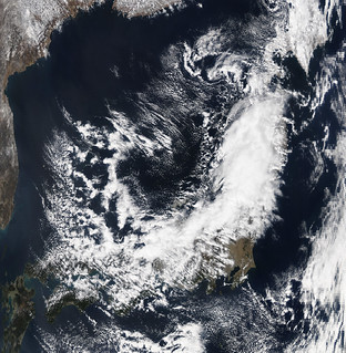 NASA Satellite Image of Japan Captured March 11, 2011 | by NASA Goddard Photo and Video