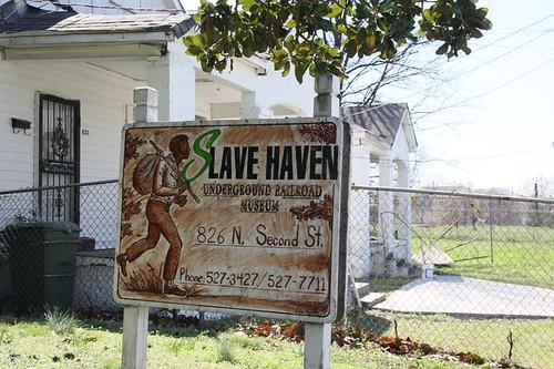 slave haven sign | Slave Haven Underground Railroad Museum ...