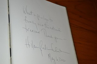 Secretary Clinton Signs the Guestbook | by U.S. Department of State
