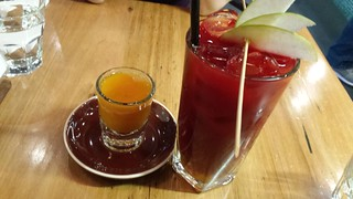 Winter Shot and Liver Cleansing Juice at Vegerama West End