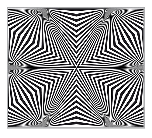 Illusion coloring pages to geometric coloring for Op art coloring pages