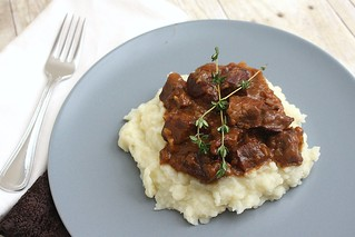 Carbonnade: Belgian Beef, Beer & Onion Stew | by Tracey's Culinary Adventures