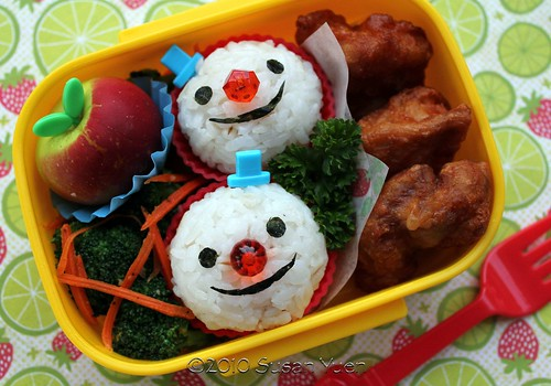 A Few Good (Snow)Men Bento | by SusanYuen