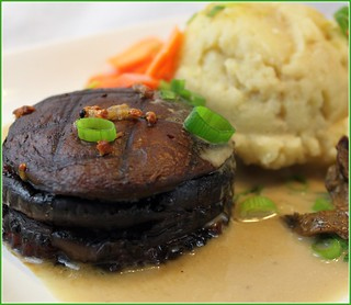 Sublime - Portobello Tenderloin with Olive Oil Whipped Potatoes (Restaurant Replications) | by Zsu Dever