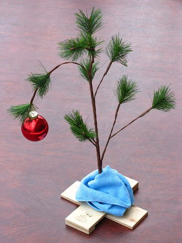 A Charlie Brown Christmas Tree / Mark K., via Flickr