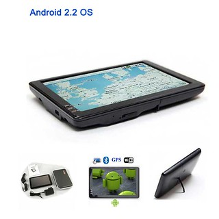 Android Tablet PC 2.2 OS 7-Inch Wide LCD Display Touch Screen MID PDA | by Virtual Village