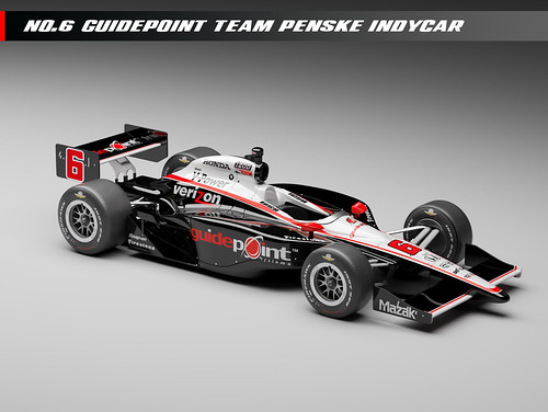 Team Penske Guidepoint No. 6 car | by IndyCar Series