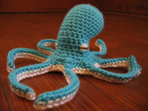 smurftopus w/o hat | Hatless, basic medium octopus shape ...