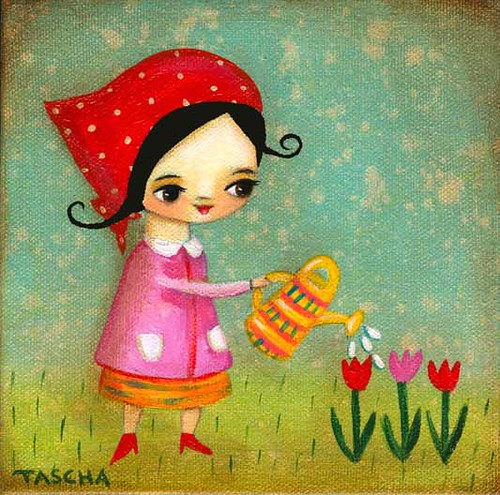 Watering the garden 2010 | by TASCHA'S GALLERY
