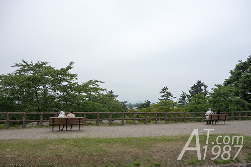 Hirosaki Castle - Mount Iwaki