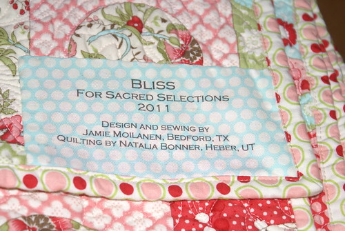 Bliss Quilt Label | by maricopafabrics/Jamie