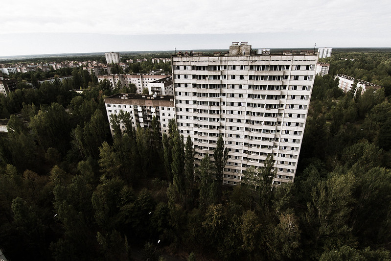 Abandoned soviet aparment