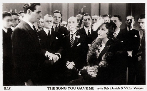 Victor Varconi and Bebe Daniels in The Song You Gave Me (1933)
