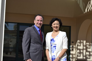 Oct 07 '16 Xiamen University Vice President Zhan Xinli Visits CISDSU