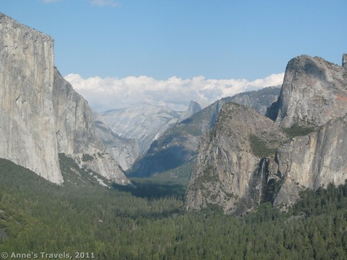 Yosemite Valley from Artist's Point, California