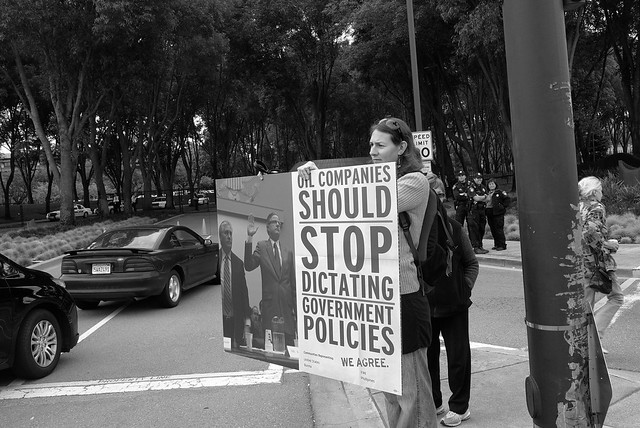 Demanding Justice At Chevron's Shareholder Meeting 2011
