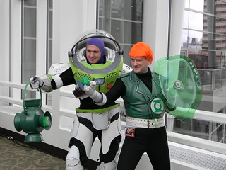 Green Lantern and Buzz Lightyear | by woot.com