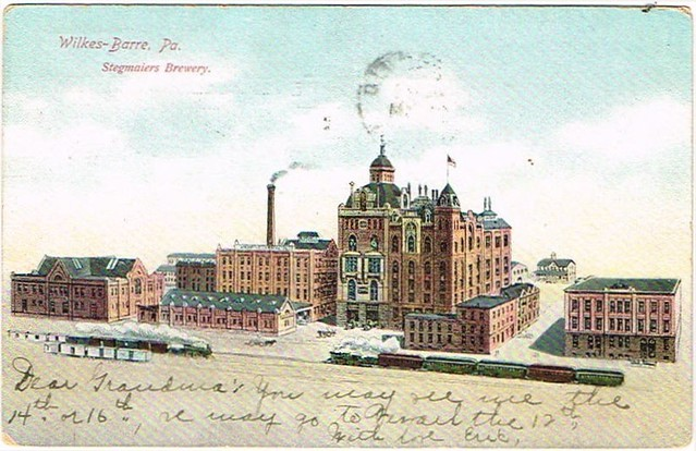 Factory-Scene-Post-Cards-Stegmaier-Brewing-Co