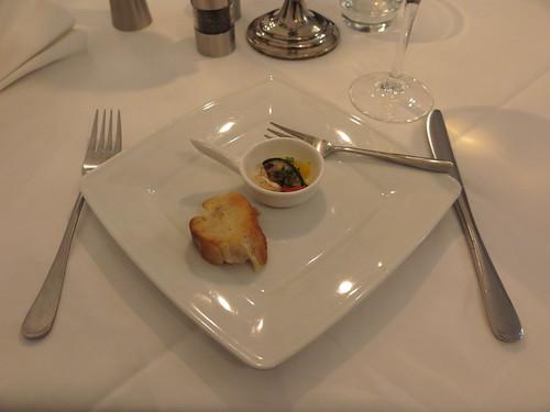 Gruß aus der Küche (im Hotel - Restaurant Cala Luna in Marburg)