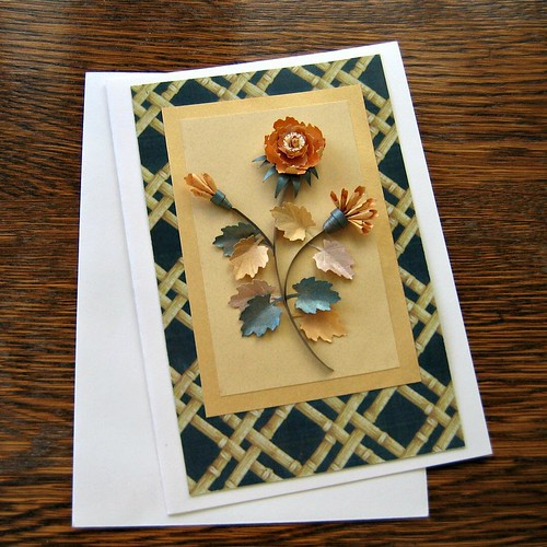 Quilled Thanksgiving Card