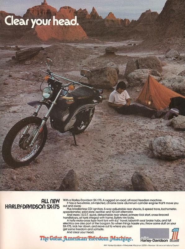 Harley-Davidson SX175