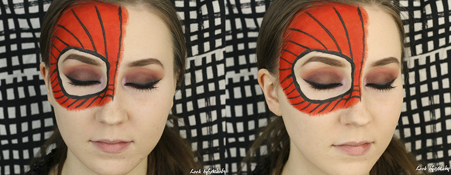 5 kuinka tehdä spidermanin maski meikki