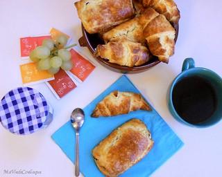 Petits pains au chocolat et croissants sans gluten