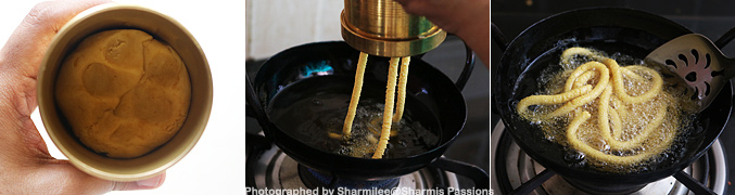 How to make Seeni Sev Recipe - Step4